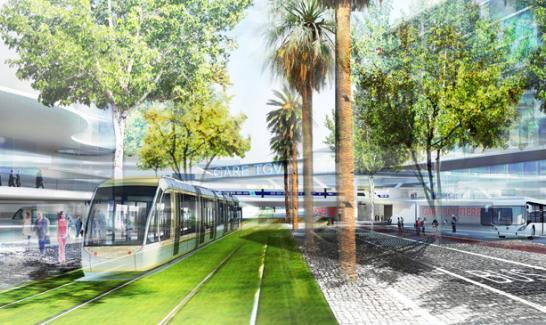 Le pôle multimodal Nice Saint-Augustin-Aéroport