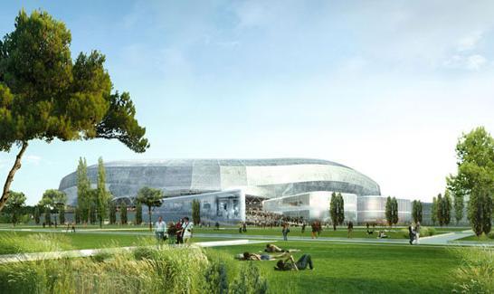 Le projet Nice Stadium
